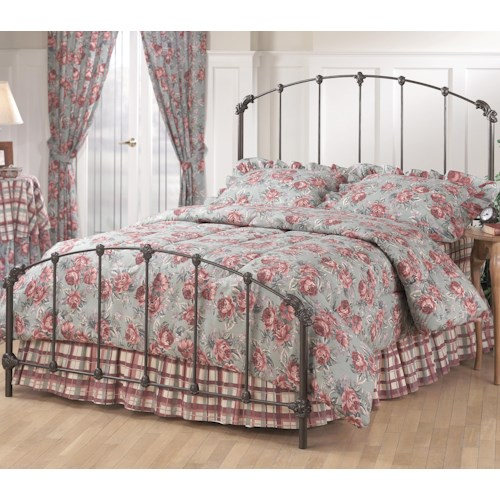 Morris Home Furnishings Metal Beds King Bonita Bed