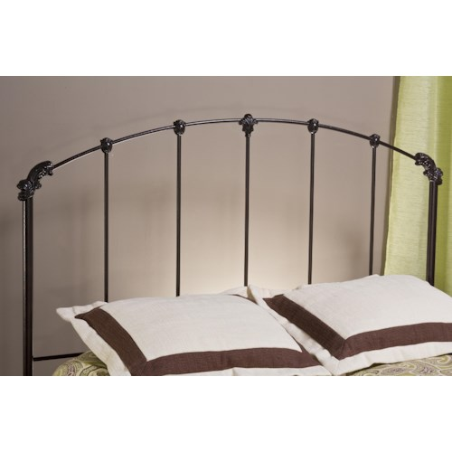 Hillsdale Metal Beds Bonita Metal Twin Headboard with Rails