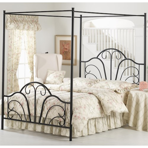 Morris Home Furnishings Metal Beds Queen Dover Bed