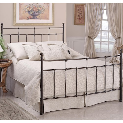 Morris Home Furnishings Metal Beds King Providence Bed