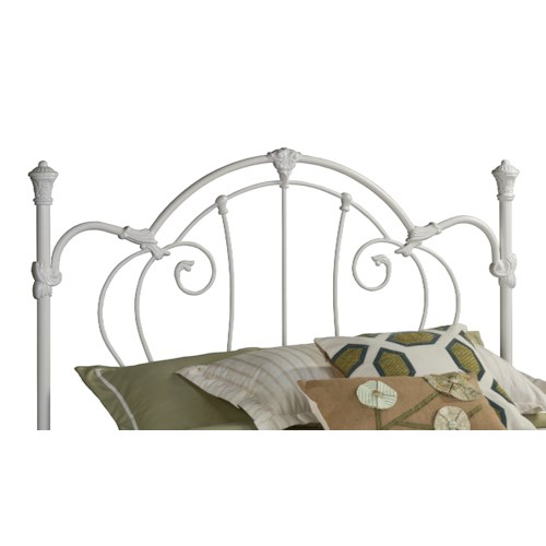 Hillsdale Metal Beds Charie Headboard and Rails - King