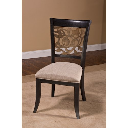 Hillsdale Bennington Set of 2 Dining Chairs with Flared Feet