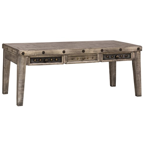 Hillsdale Bolt Rustic Coffee Table