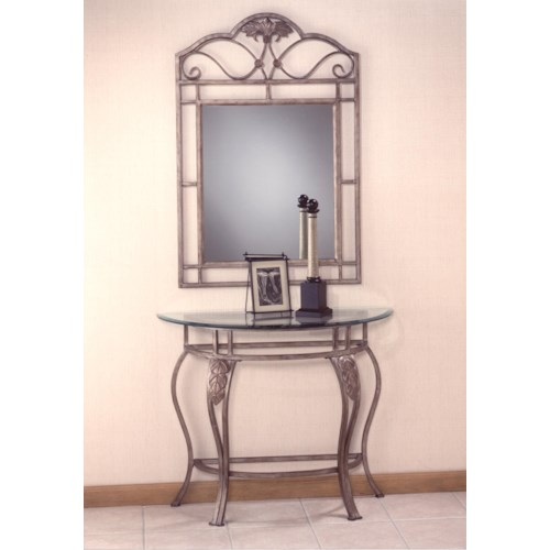 Morris Home Furnishings Bordeaux Console Mirror