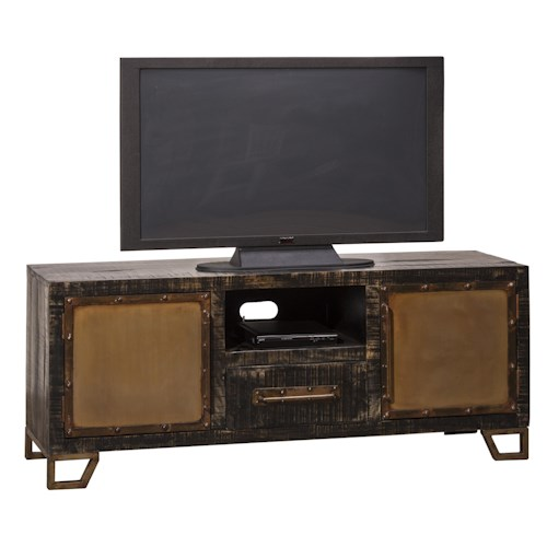 Hillsdale Bridgewater Rustic Entertainment Unit