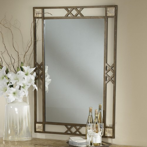 Morris Home Furnishings Brookside Wall Mirror