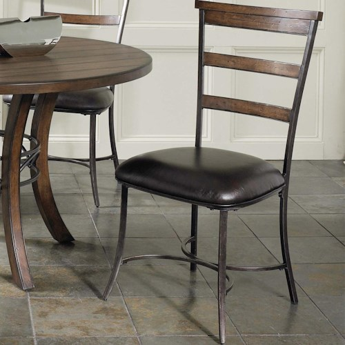 Morris Home Furnishings Cameron Ladder Back Dining Side Chair