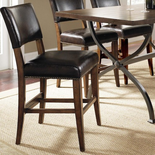 Morris Home Furnishings Cameron Parson Counter Height Stool