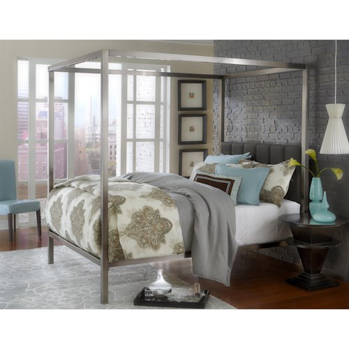 Morris Home Furnishings Chatham King Bed Set w/ Rails
