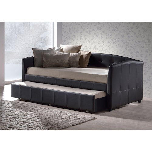 Hillsdale Daybeds Napoli Daybed with Trundle