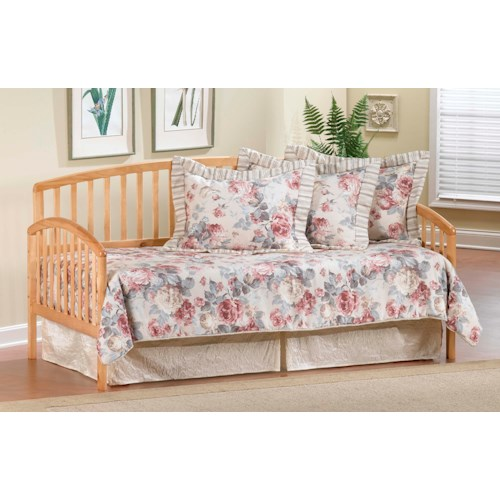 Morris Home Furnishings Daybeds Daybed w/Suspension Deck and Roll-Out Trundle - Country Pine