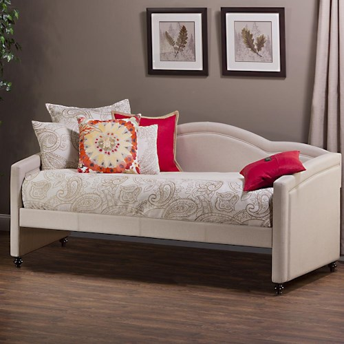 Morris Home Furnishings Daybeds Jasmine Upholstered Daybed