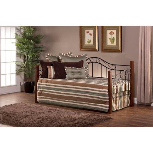 Hillsdale Daybeds Matson Daybed with Arched Backboard and Suspension Deck