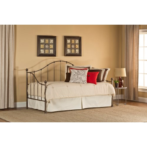 Morris Home Furnishings Daybeds Amy Daybed with Suspension Deck and Arched Details