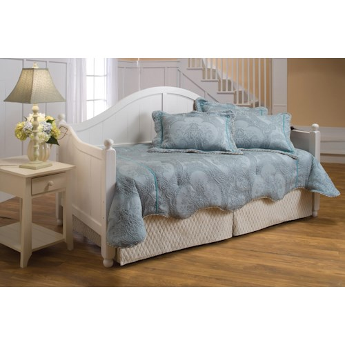 Hillsdale Daybeds Daybed with Suspension Deck and Roll-Out Trundle