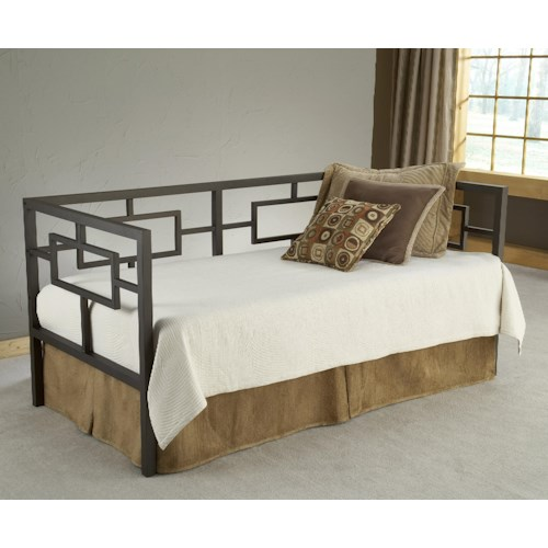Hillsdale Daybeds Twin Daybed with Asian-Inspired Design