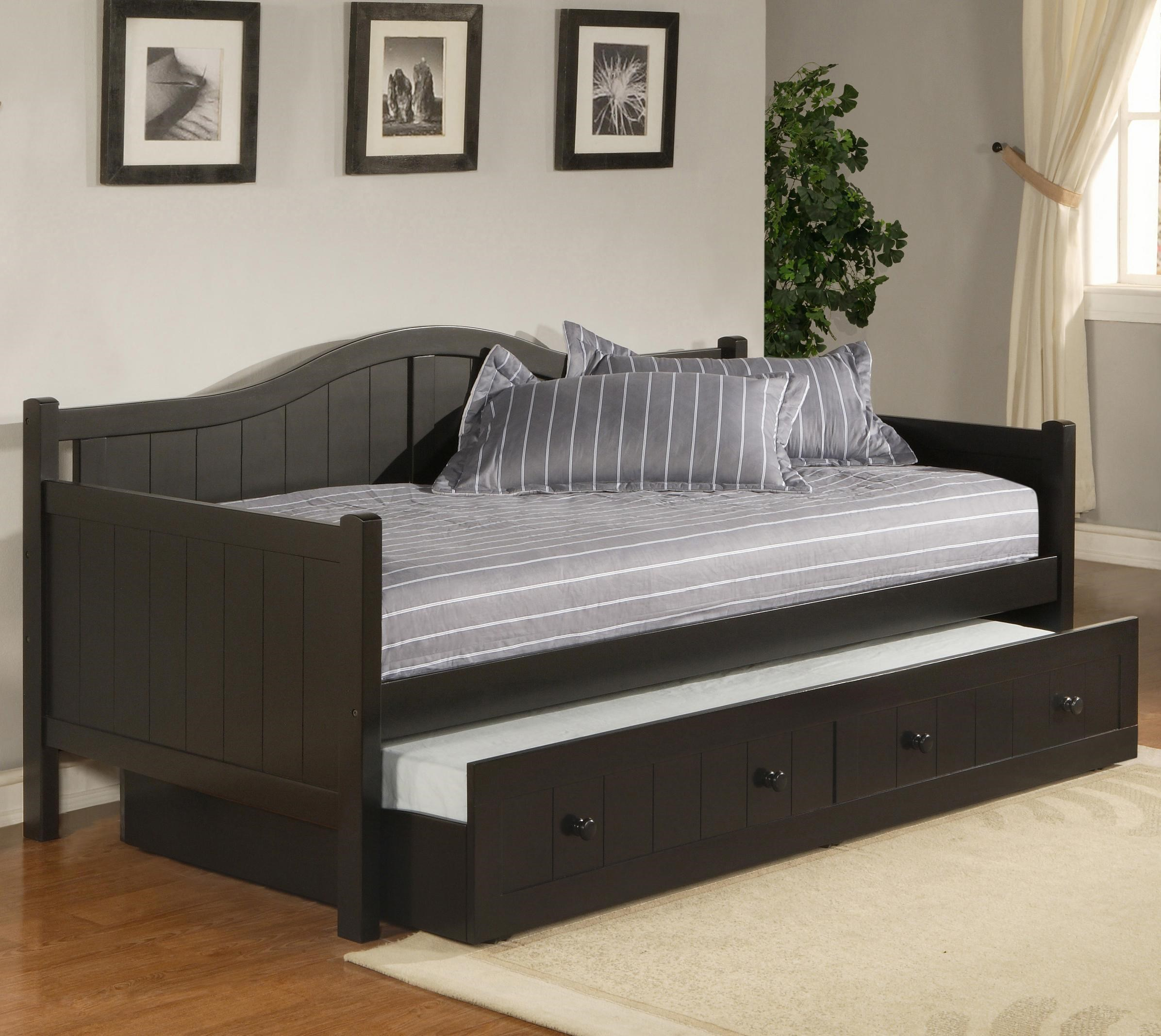 Daybeds Twin Staci Daybed with Trundle  Rotmans  Daybed Worcester  500 x 500