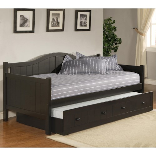 Morris Home Furnishings Daybeds Twin Staci Daybed with Trundle