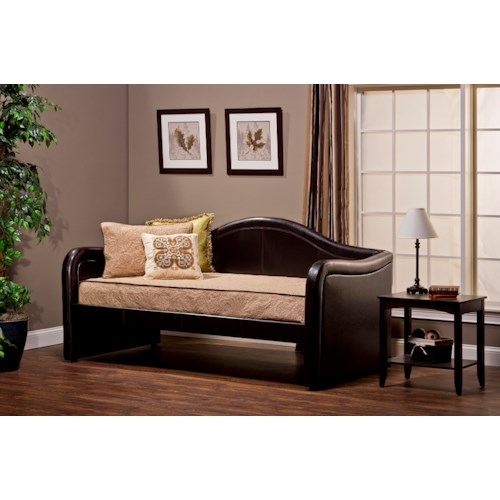 Morris Home Furnishings Daybeds Brenton Daybed with Arched Accents and Optional Trundle Bed