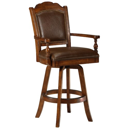 Morris Home Furnishings Game Stools & Chairs Nassau Game Stool