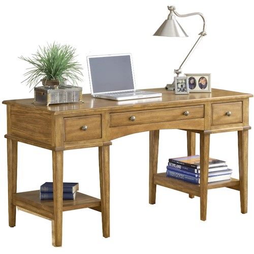 Hillsdale Gresham Desk with 3 Drawers and 2 shelves
