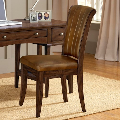 Hillsdale Gresham Chair with Vinyl Upholstered Seat and Back