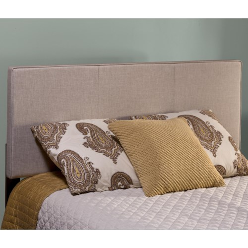 Morris Home Furnishings Isabella Upholstered Full/Queen Headboard with Frame