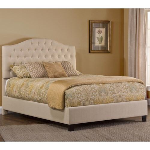Morris Home Furnishings Jamie King Upholstered Bed Set