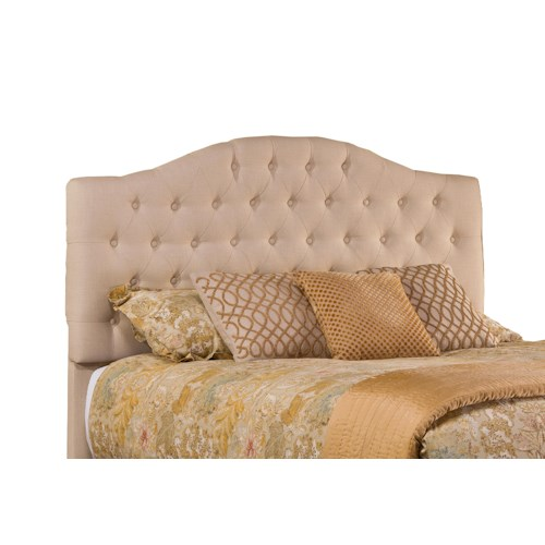 Morris Home Furnishings Jamie Upholstered King Headboard with Frame