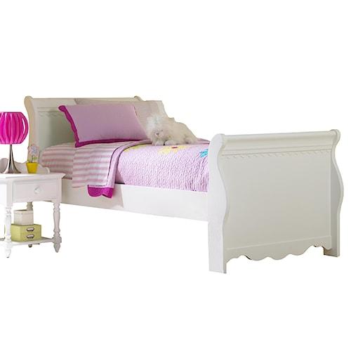 Morris Home Furnishings Lauren  Full Sleigh Bed