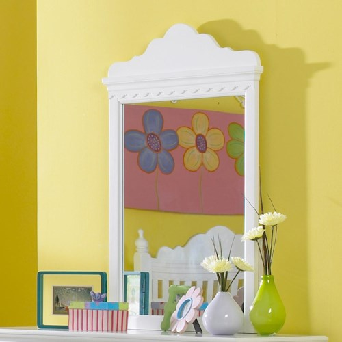 Morris Home Furnishings Lauren  Youth Dresser Mirror