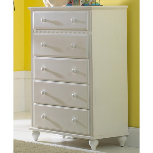 Hillsdale Lauren  5-Drawer Chest