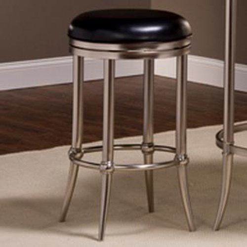 Morris Home Furnishings Maddox Backless Swivel Stool