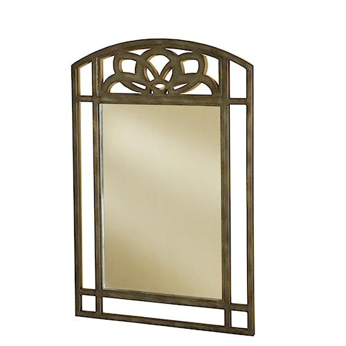 Morris Home Furnishings Marsala Console Mirror