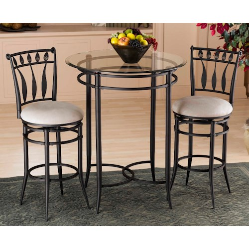 Hillsdale Mix N Match Hudson 3-Piece Bistro Set