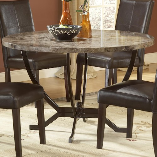 Morris Home Furnishings Monaco Round Dining Table
