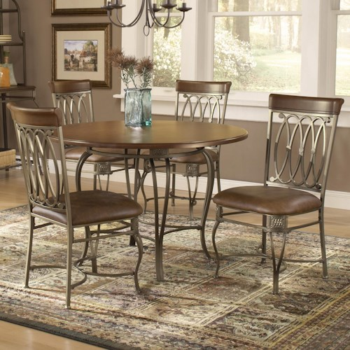 Hillsdale Montello Five Piece Dining Set