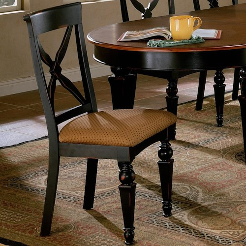 Morris Home Furnishings Northern Heights Dining Side Chair