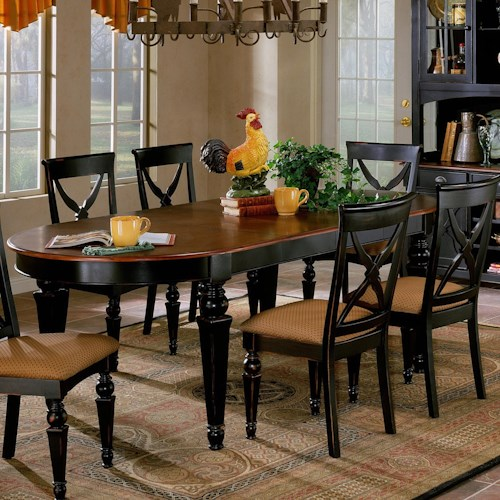 Hillsdale Northern Heights Oval Dining Table