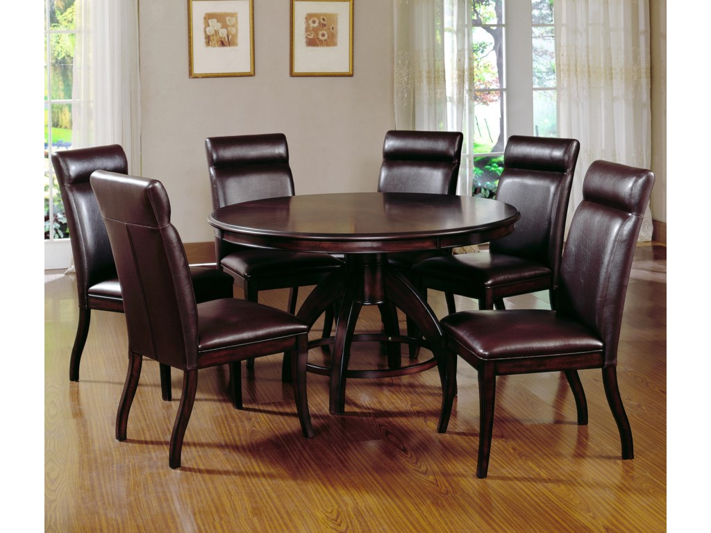 Shown with Round Pedestal Dining Table