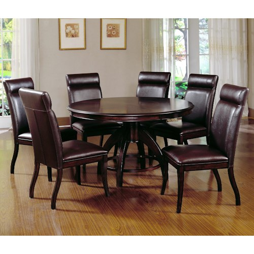 Hillsdale Nottingham 7 Piece Timeless Dining Set