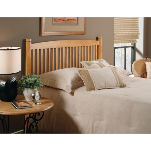 Hillsdale Oaktree Full/Queen Oak Tree Headboard with Rails