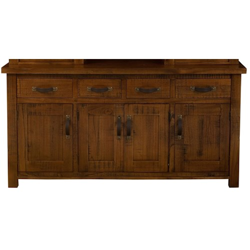 Morris Home Furnishings Outback Dining Buffet w/ 4 Drawers