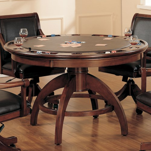 Morris Home Furnishings Palm Spring Game Table