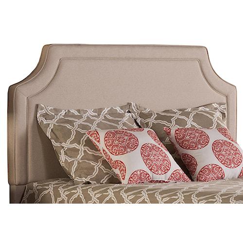 Morris Home Furnishings Parker Elegant Upholstered Queen Headboard and Frame