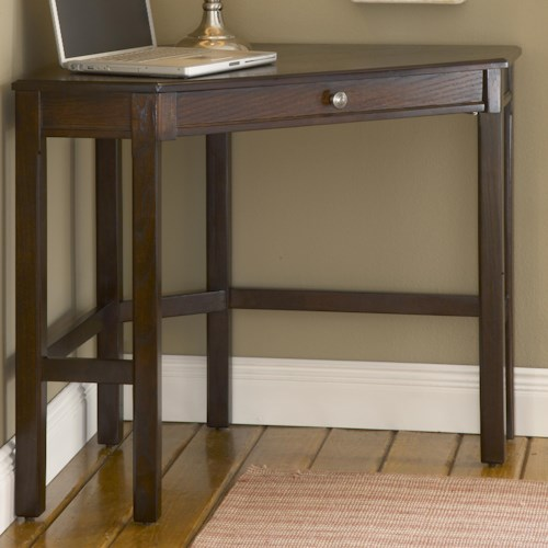 Hillsdale Solano Corner Desk with Rich Oak or Cherry Finish