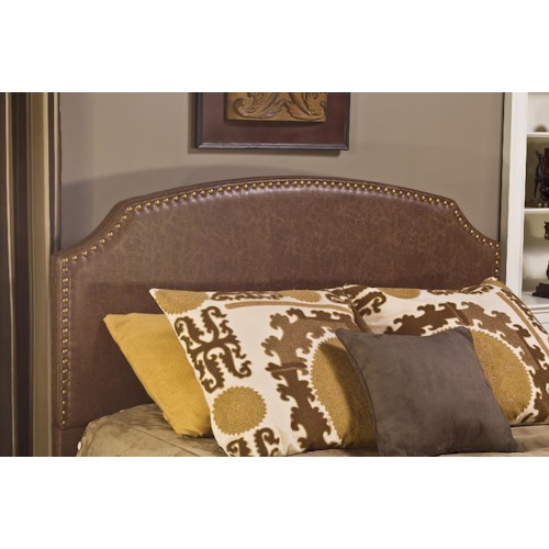 Hillsdale Upholstered Beds Upholstered King Headboard with Rails