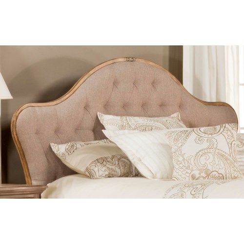 Hillsdale Upholstered Beds Jefferson Queen Headboard with Button Tufting