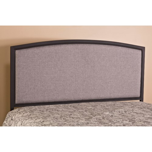 Hillsdale Upholstered Beds Bayside King Upholstered Headboard with Rails