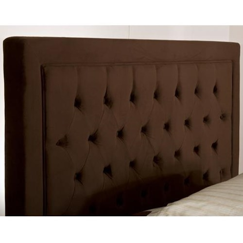 Hillsdale Upholstered Beds Kaylie King Headboard with Tufting